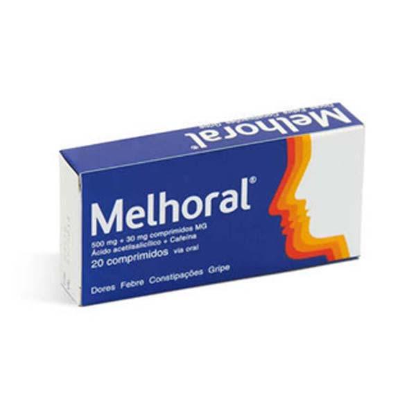 Melhoral 500mg em. 20 Comprimidos