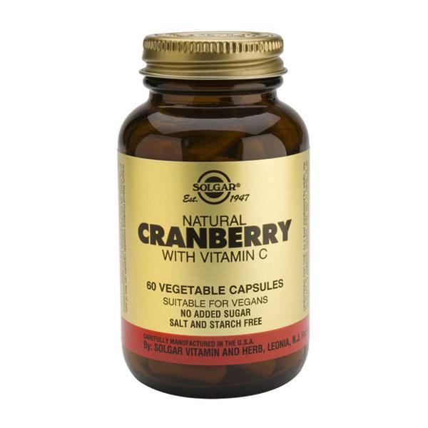 Cranberry Sistema Urinário Solgar emb. 60 cápsulas