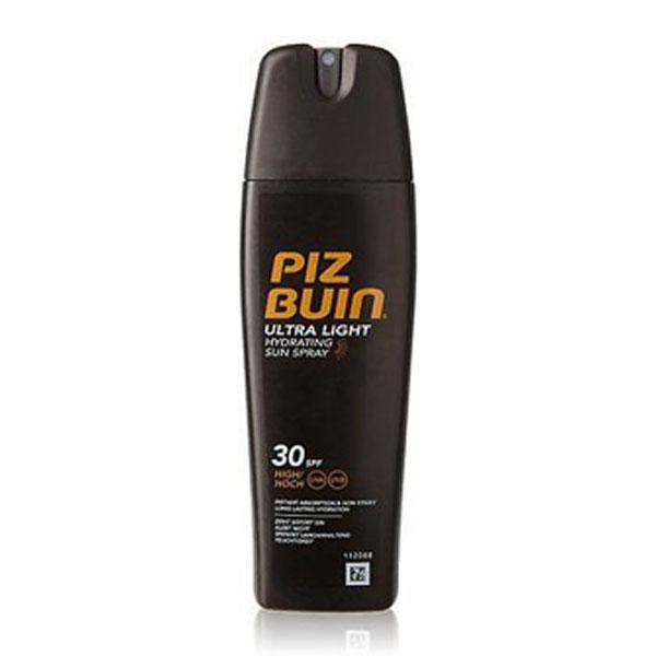 Spray Protetor Solar Ultra Light FPS 30 Piz Buin emb. 200 ml