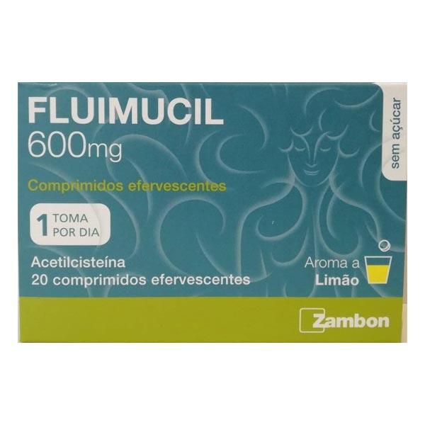 Fluimucil 600mg 20 comprimidos efervescentes