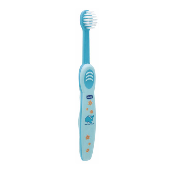 Escova de Dentes Azul 6-36 Meses Chicco 1 un