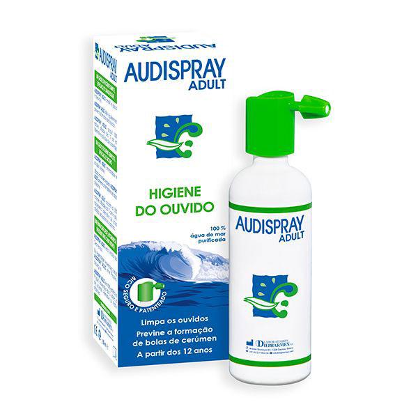 Solução de Água do Mar Adulto Audispray emb. 50 ml