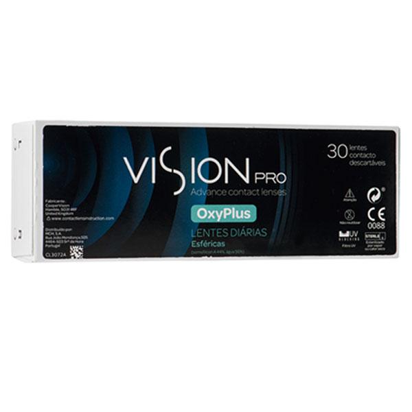 Lentes Contacto Visionpro Oxyplus 30Un -1.50
