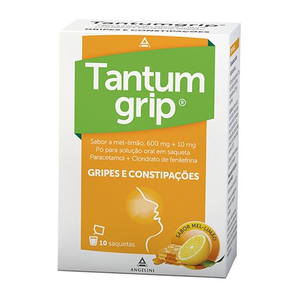 Tantumgrip Limão-Mel emb. 10 saquetas