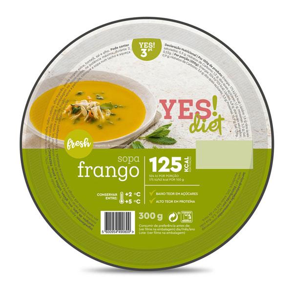 Sopa de Frango YES!diet emb. 300g