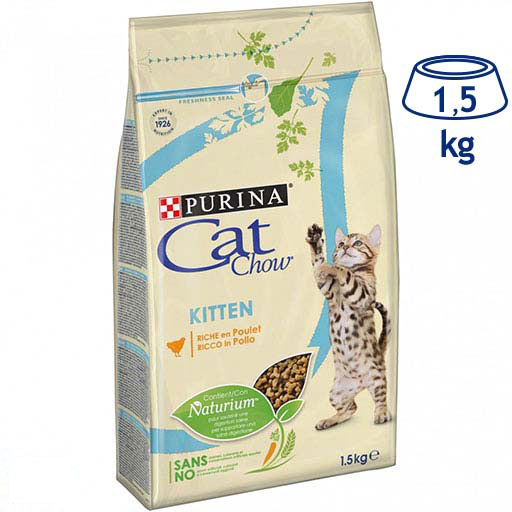 Ração para Gato Júnior Purina Cat Chow (emb. 1,5 kg)