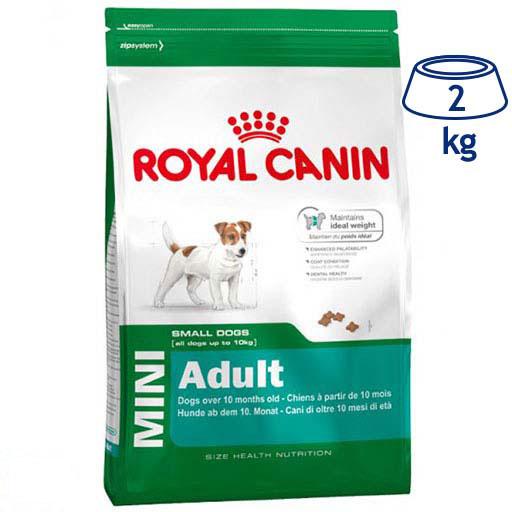 Ração para Cão Mini Adulto Royal Canin (emb. 2 kg)