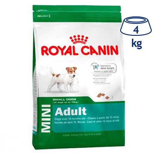 Ração para Cão Mini Adulto Royal Canin (emb. 4 kg)