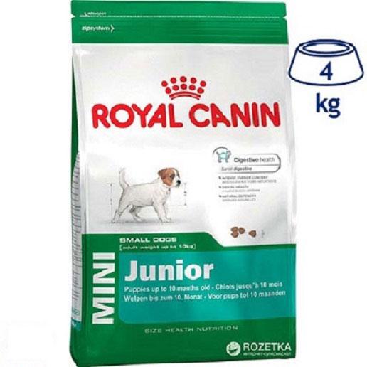 Ração para Cão Mini Júnior Royal Canin (emb. 4 kg)