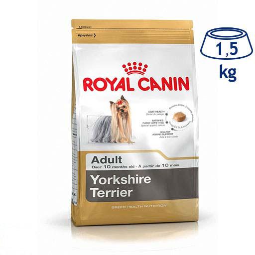Ração para Cão Adulto Yorkshire Royal Canin (emb. 1,5 kg)