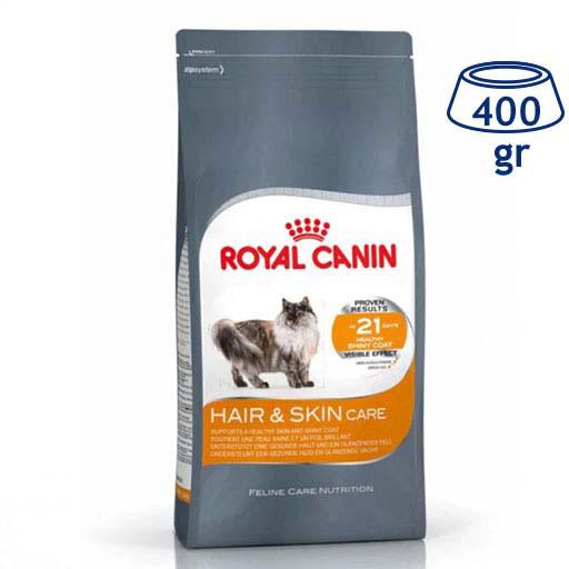 Ração para Gato Pele e Pelo Royal Canin (emb. 400 gr)