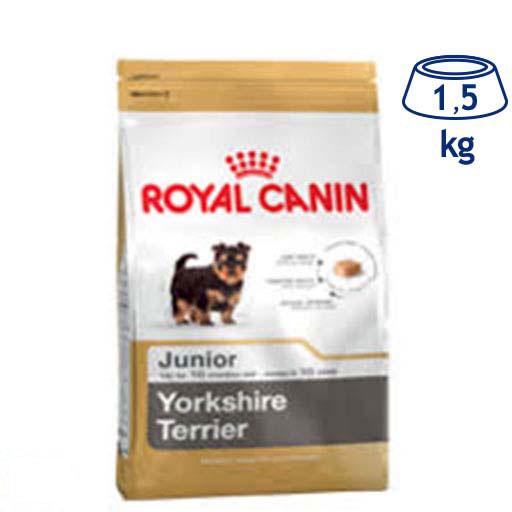 Ração para Cão Júnior Yorkshire Royal Canin (emb. 1,5 kg)