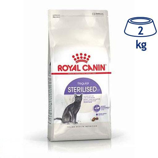 Ração para Gato Esterilizado + 7 anos Royal Canin (emb. 2 kg)