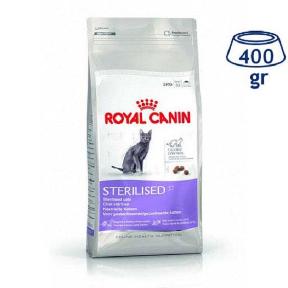 Ração para Gato Esterilizado 37 Royal Canin (emb. 400 gr)