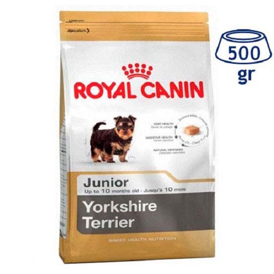 Ração para Cão Yorkshire Júnior  Royal Canin (emb. 500 gr)