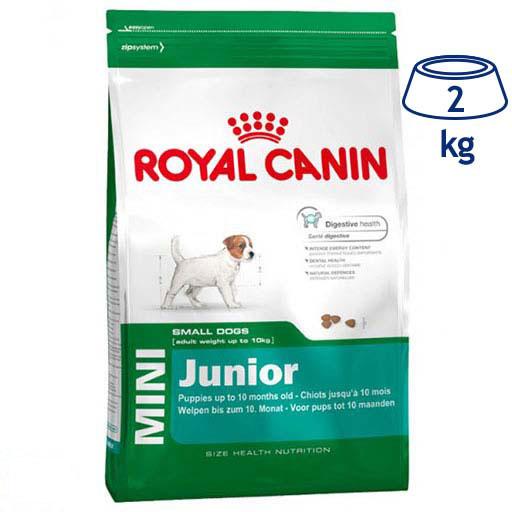 Ração para Cão Mini Júnior Royal Canin (emb. 2 kg)