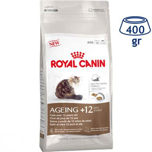 Ração para Gato Ageing +12 Royal Canin (emb. 400 gr)