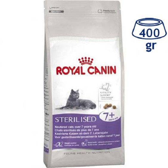 Ração para Gato Esterilizado Royal Canin (emb. 400 gr)