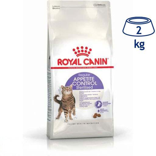 Ração para Gato Controlo de Apetite Esterilizado Royal Canin (emb. 2 kg)