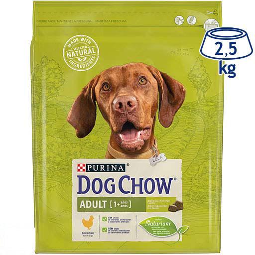Ração para Cão Adulto Frango Purina Dog Chow (emb. 2,5 kg)