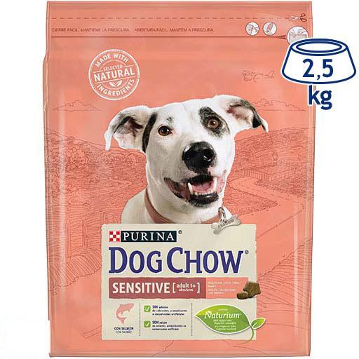 Ração para Cão Adulto Sensitive Salmão Purina Dog Chow (emb. 2,5 kg)