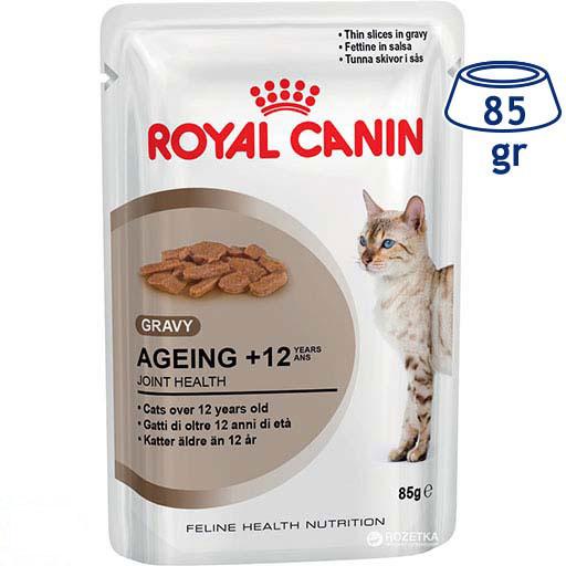 Comida Húmida para Gato Ageing +12 Royal Canin (emb. 85 gr)