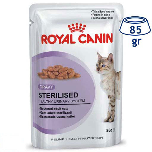Comida Húmida para Gato Esterilizado Royal Canin (emb. 85 gr)