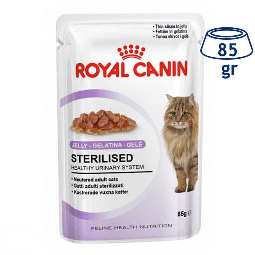 Comida Húmida para Gato Esterilizado Jelly Royal Canin (emb. 85 gr)
