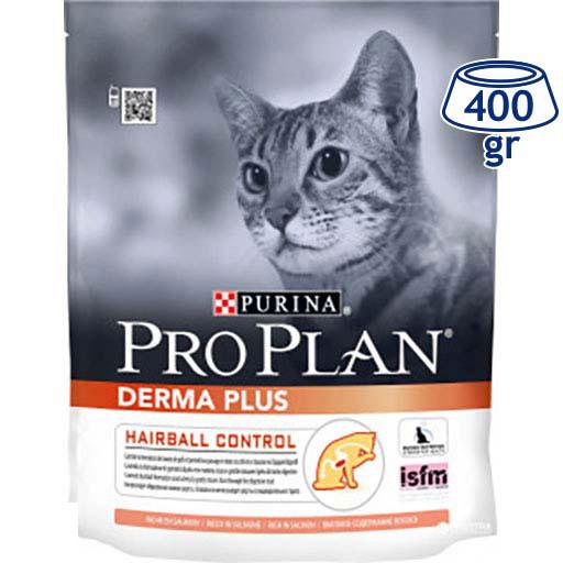 Ração para Gato Adulto Derma Plus Salmão Purina Pro Plan (emb. 400 gr)