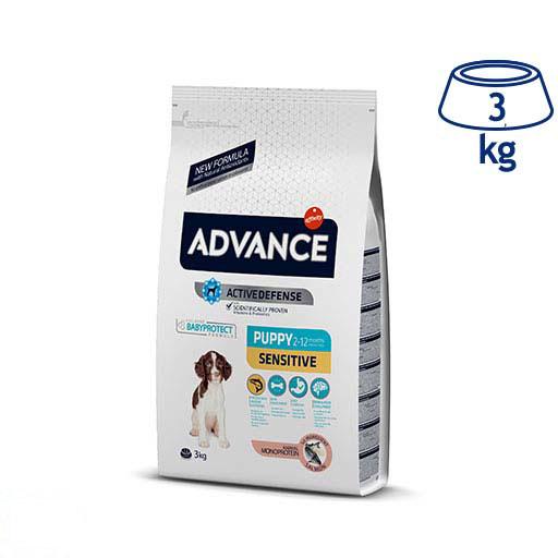 Ração para Cão Júnior Sensitive Affinity Advance (emb. 3 kg)