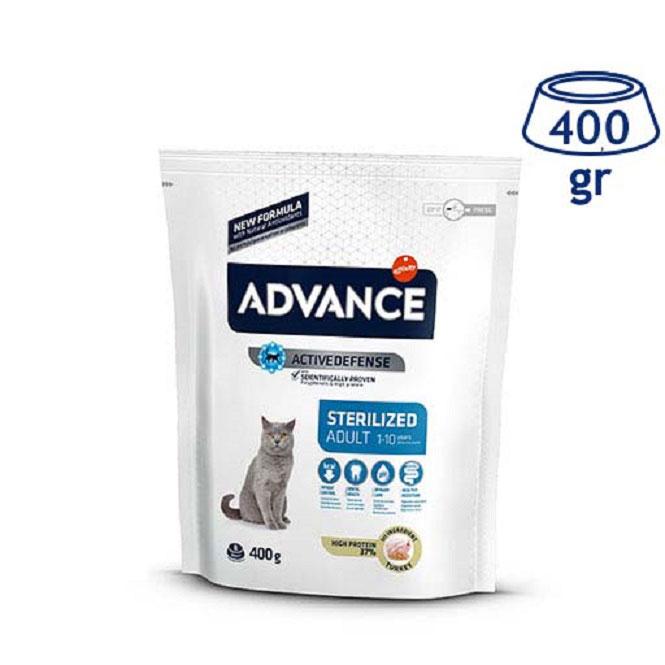 Ração para Gato Esterilizado Affinity Advance (emb. 400 gr)