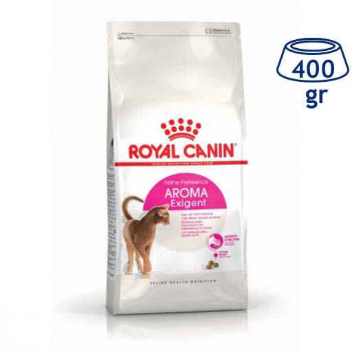 Ração para Gato Exigent Aromatic Royal Canin (emb. 400 gr)