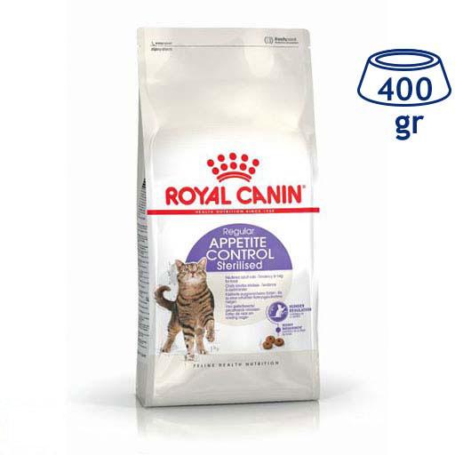 Ração para Gato Controlo de Apetite Esterilizado Royal Canin (emb. 400 gr)