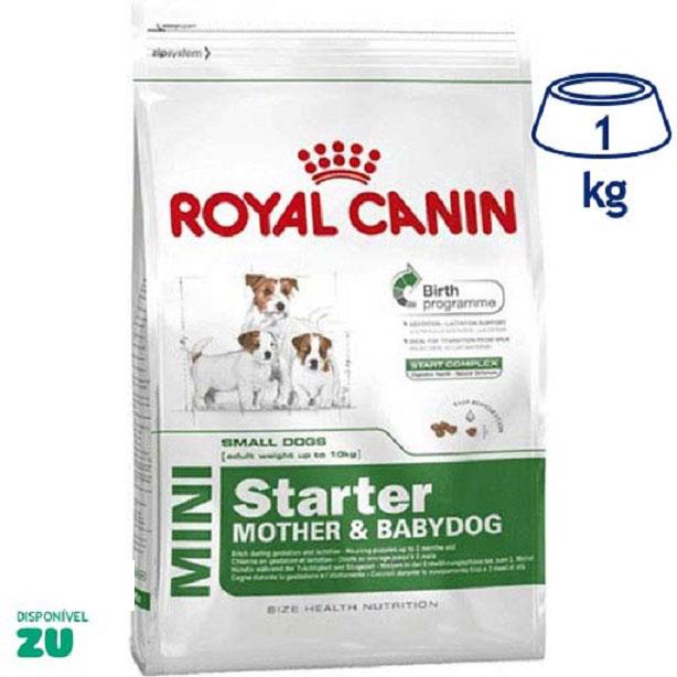 Ração para Cão Mini Starter Royal Canin (emb. 1 kg)