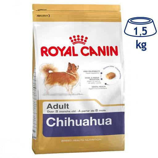 Ração para Cão Adulto Chihuahua Royal Canin (emb. 1,5 kg)