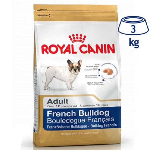 Ração para Cão Bulldog Francês Royal Canin (emb. 3 kg)