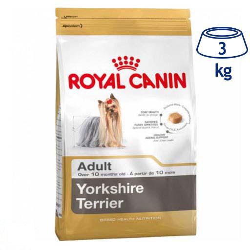 Ração para Cão Yorkshire Adulto Royal Canin (emb. 3 kg)
