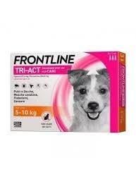 Fontline Tri-act Pipetas Antiparasitárias para Cão 5 a 10 Kg (3 unidades)