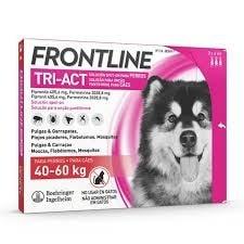 Fontline Tri-act Pipetas Antiparasitárias para Cão 40 a 60 Kg (3 unidades)
