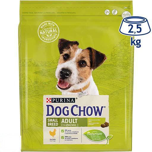 Ração para Cão Mini Frango Purina Dog Chow (emb. 2,5 kg)