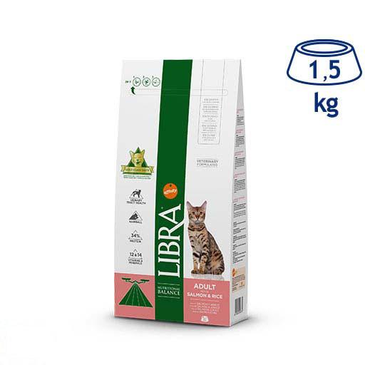 Ração para Gato Adulto Salmão e Arroz Affinity Libra (emb. 1,5 kg)