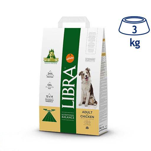 Ração para Cão Adulto Frango Affinity Libra (emb. 3 kg)