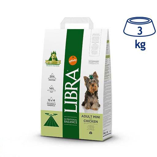 Ração para Cão Mini Frango Affinity Libra (emb. 3 kg)