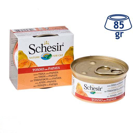 Comida Húmida para Gato Atum/Papaia Schesir (emb. 85 gr)