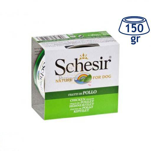 Comida Húmida para Cão Filete Frango Schesir (emb. 150 gr)