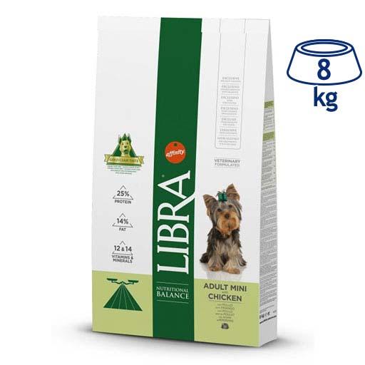 Ração para Cão Mini Adulto Affinity Libra (emb. 8 kg)
