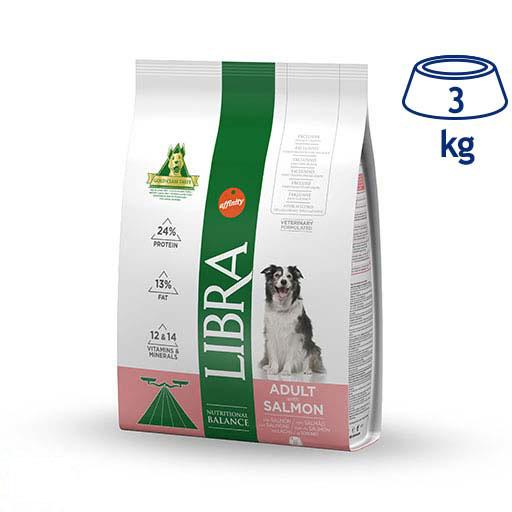 Ração para Cão Adulto Salmão Affinity Libra (emb. 3 kg)