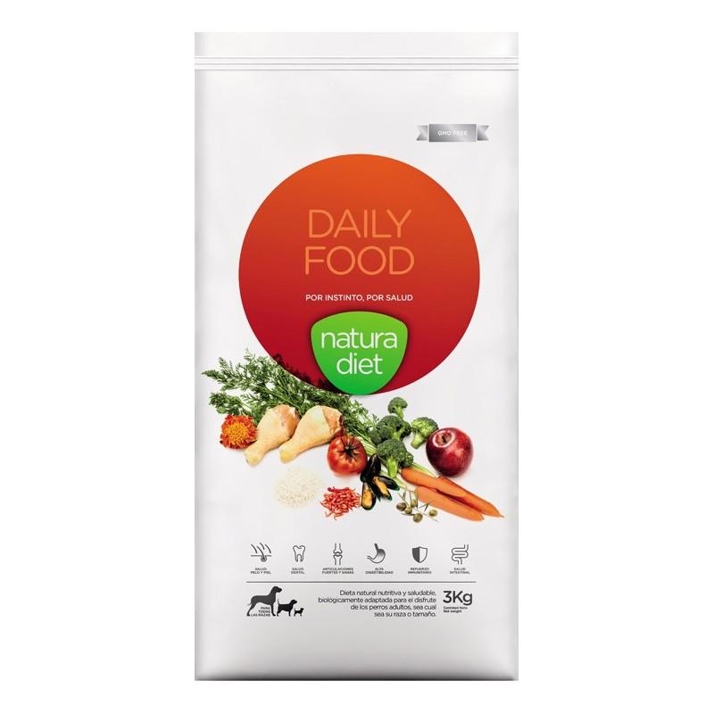 Ração para Cão Daily Food Natura Diet (emb. 3kg)