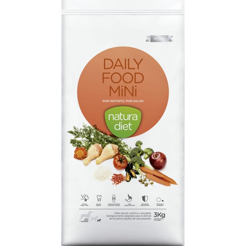 Ração para Cão Daily Food Mini Natura Diet (emb. 3kg)