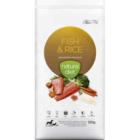 Ração para Cão Fish & Rice Natura Diet (emb. 3kg)
